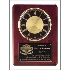BC98 Rosewood Finish Wall Clock